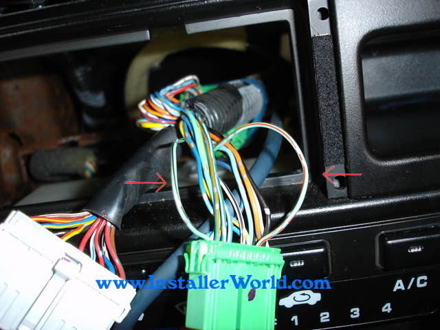 96-98 Honda Civic Radio Removalinstallerworld.com